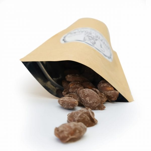 THC Chocolate Almonds - 400mg THC - The Sticky Hippy