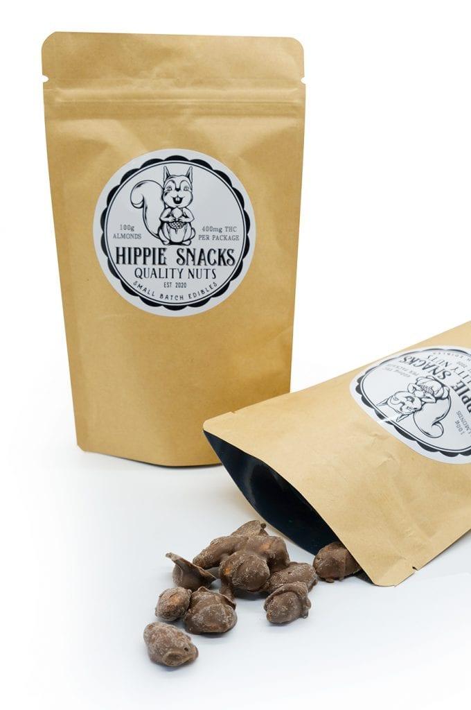 chocolate covered hippie snacks